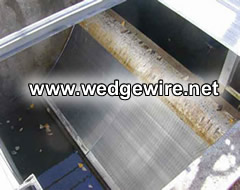 Curved Sieve Bend Screen